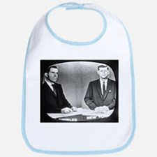 Nixon Vs Kennedy Debate Bib