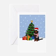 Gordon Howling Holiday Greeting Card