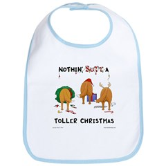 Nothin Butt A Toller Xmas Bib