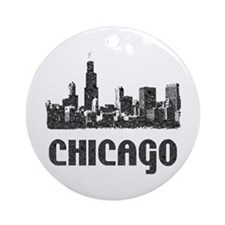Chicago Ornament (Round)