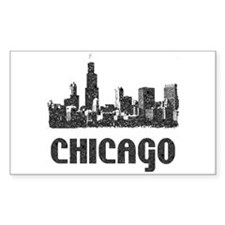 Chicago Rectangle Decal