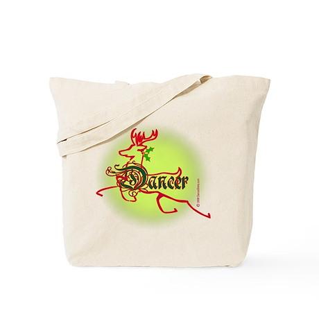 Reindeer Dancer Tote Bag