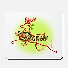 Reindeer Dancer Mousepad