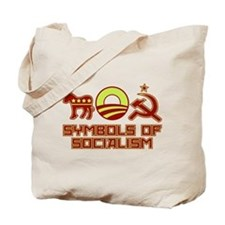 Symbols of Socialism Tote Bag