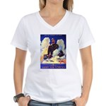 Ramparts We Watch Air Force Women's V-Neck T-Shirt
