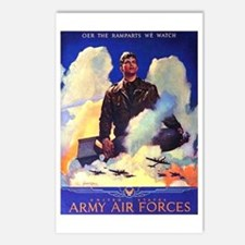 Ramparts We Watch Air Force Postcards (Package of