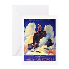 Ramparts We Watch Air Force Greeting Card