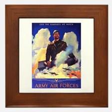 Ramparts We Watch Air Force Framed Tile