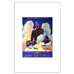 Ramparts We Watch Air Force Large Poster