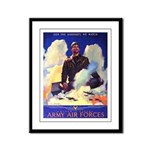 Ramparts We Watch Air Force Framed Panel Print