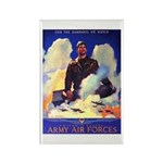 Ramparts We Watch Air Force Rectangle Magnet (10 p