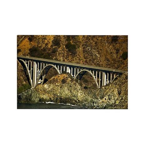 Big Sur Bridge 2 Rectangle Magnet (100 pack)