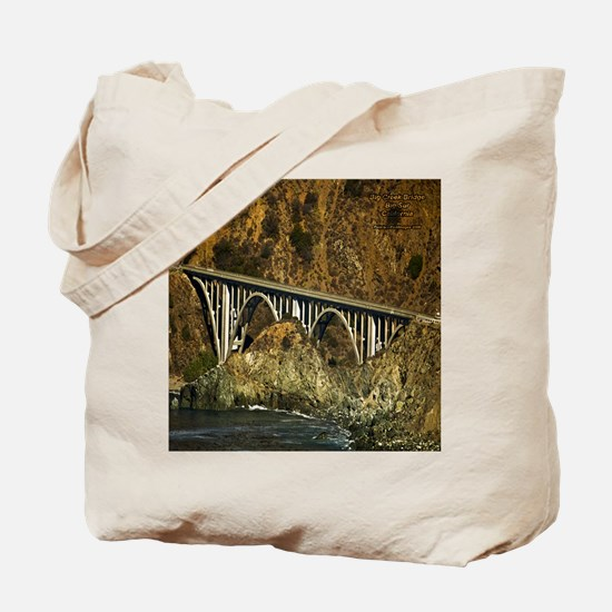 Big Sur Bridge 2 Tote Bag