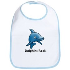 Dolphins Rock! Bib