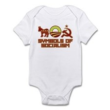 Symbols of Socialism Infant Bodysuit