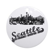 Seattle Ornament (Round)