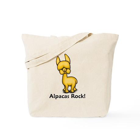 Alpacas Rock! Tote Bag