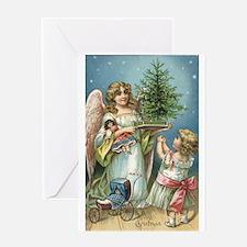 Angelic Christmas Greeting Card