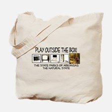 Play Outside The Box Tote Bag