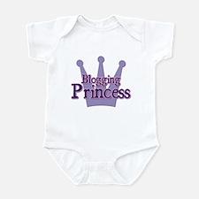 Crown Blogging Princess Infant Bodysuit