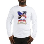 Colors Won't Run Patriot (Front) Long Sleeve T-Shi