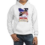 Colors Won't Run Patriot (Front) Hooded Sweatshirt