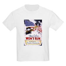 Colors Won't Run Patriot (Front) T-Shirt
