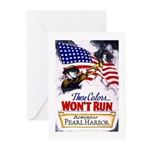 Colors Won't Run Patriot Greeting Cards (Pk of 10)