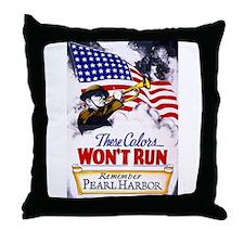 Colors Won't Run Patriot Throw Pillow