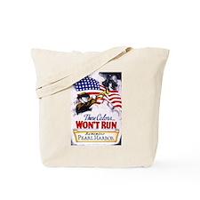 Colors Won't Run Patriot Tote Bag