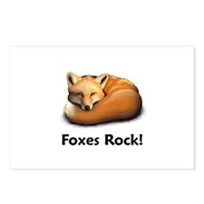 Foxes Rock! Postcards (Package of 8)