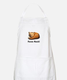 Foxes Rock! BBQ Apron