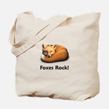 Foxes Rock! Tote Bag