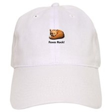 Foxes Rock! Baseball Cap
