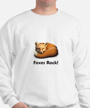Foxes Rock! Sweatshirt