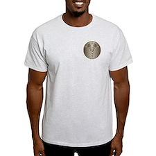 MD Caduceus Ash Grey T-Shirt