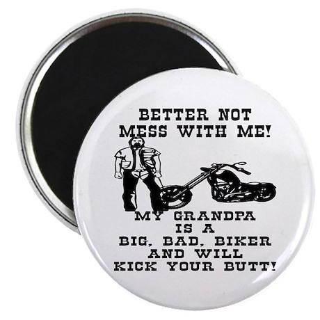 GrandPa Is A Big Bad Biker Magnet