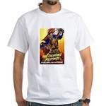 Fighting Filipinos Military Soldier White T-Shirt