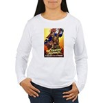 Fighting Filipinos Military Soldier Women's Long S
