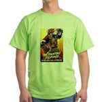 Fighting Filipinos Military Soldier Green T-Shirt