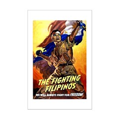 Fighting Filipinos Military Soldier Posters