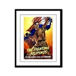 Fighting Filipinos Military Soldier Framed Panel P