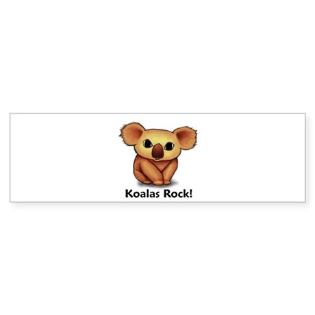Koalas Rock! Bumper Sticker