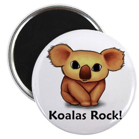 "Koalas Rock! 2.25"" Magnet (100 pack)"
