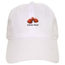 Lobsters Rock! Baseball Cap