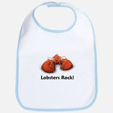 Lobsters Rock! Bib