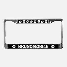 Brunomobile License Plate Frame