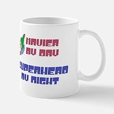 Xavier - Super Hero by Night Mug