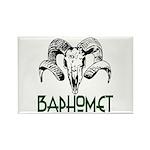 BAPHOMET SKULL Rectangle Magnet (100 pack)