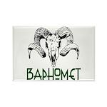 BAPHOMET SKULL Rectangle Magnet